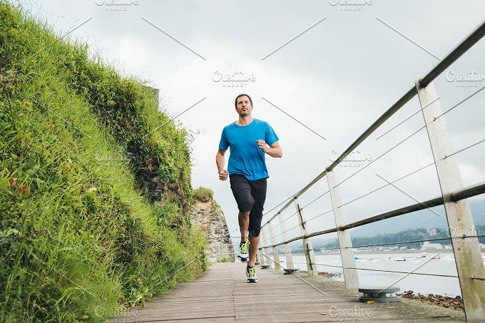 Running near the sea.jpg - Sports