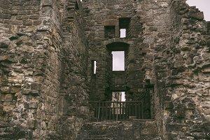 St Andrews castle ruins, Scotland