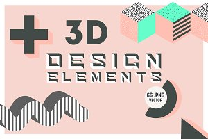 3d Design Elements Set 2