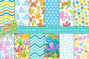 Under The Sea Digital Paper