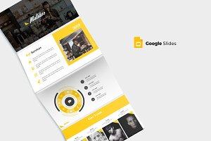 Maldivo - Google Slide Template