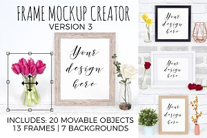 Frame Mockup Generator Version 3