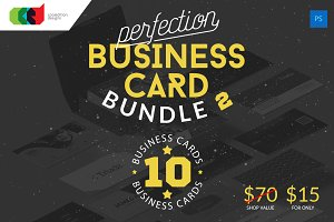 Perfection - Business Card Bundle 2