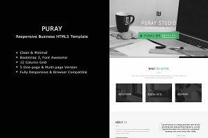 Puray - Business HTML5 Template