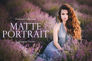 Matte Portrait Lightroom Presets