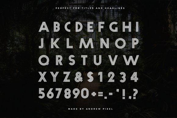 Fiver Multiline Display Font Stunning Display Fonts Creative Market