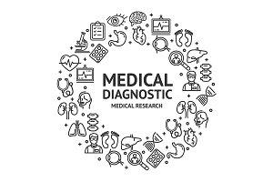 Medical Diagnostics Round Design