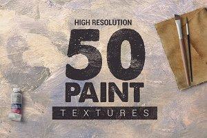 Bundle Paint Textures x50