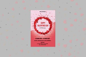 Valentine's Day Party Flyer V03