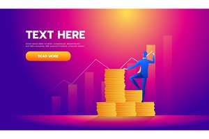 Business finance concept,Investor
