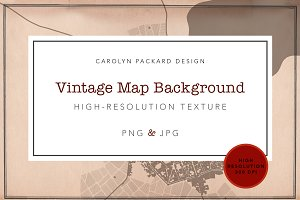 Vintage Map Background