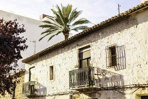 Mediterranean architecture in Spain