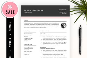 SALE Resume Template for MS Word