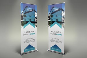 Real Estate Roll Up Banner