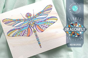 Ethnic Collection: Dragonfly