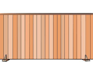 board fence. house real estate