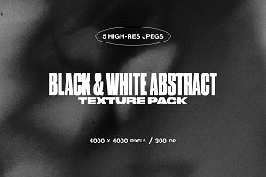 Black & White Abstract Texture Pack