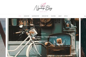 Ngetrip - Gutenberg WordPress Blog