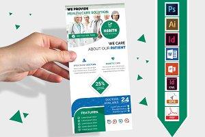 Rack Card | Doctor DL Flyer Vol-01