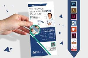 Rack Card | Doctor DL Flyer Vol-02