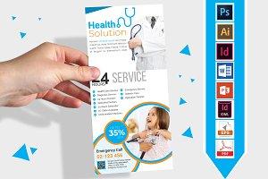 Rack Card | Doctor DL Flyer Vol-03