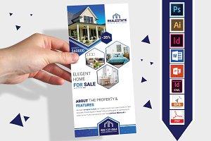 Rack Card | Real Estate DL Flyer V-1