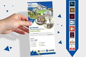 Rack Card | Real Estate DL Flyer V-2