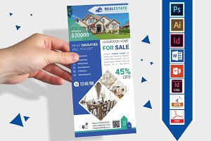 Rack Card | Real Estate DL Flyer V-3