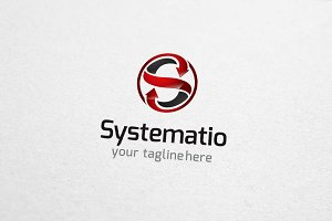 Systemation - S Letter Logo