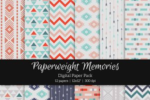 Patterned Paper – Happy Nomad