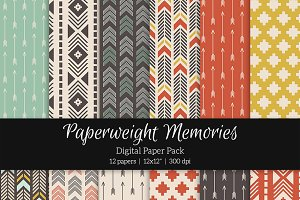 Patterned Paper – Tribal Tones