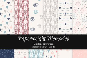 Patterned Paper – Love is in the Air
