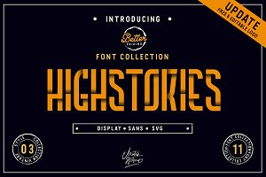 Highstories Family - Font Collection