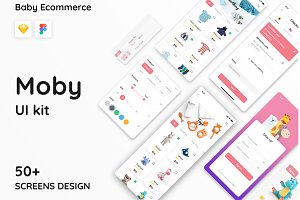 Moby E-commerce App Ui Kit