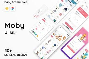 Moby E-commerce App Ui Kit