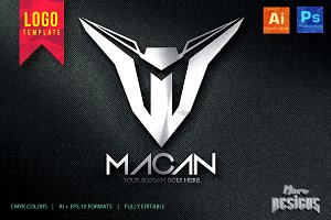 MACAN Logo Template
