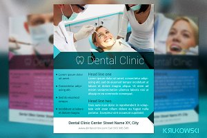 Dental Clinic Flyer