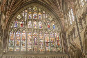 Stained glass Exeter Cathedral