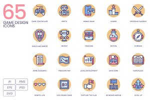 65 Game Design Icons | Butterscotch