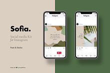 Sofia Social Media Kit for Instagram