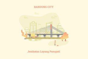 Bandung City, Jembatan Pasupati