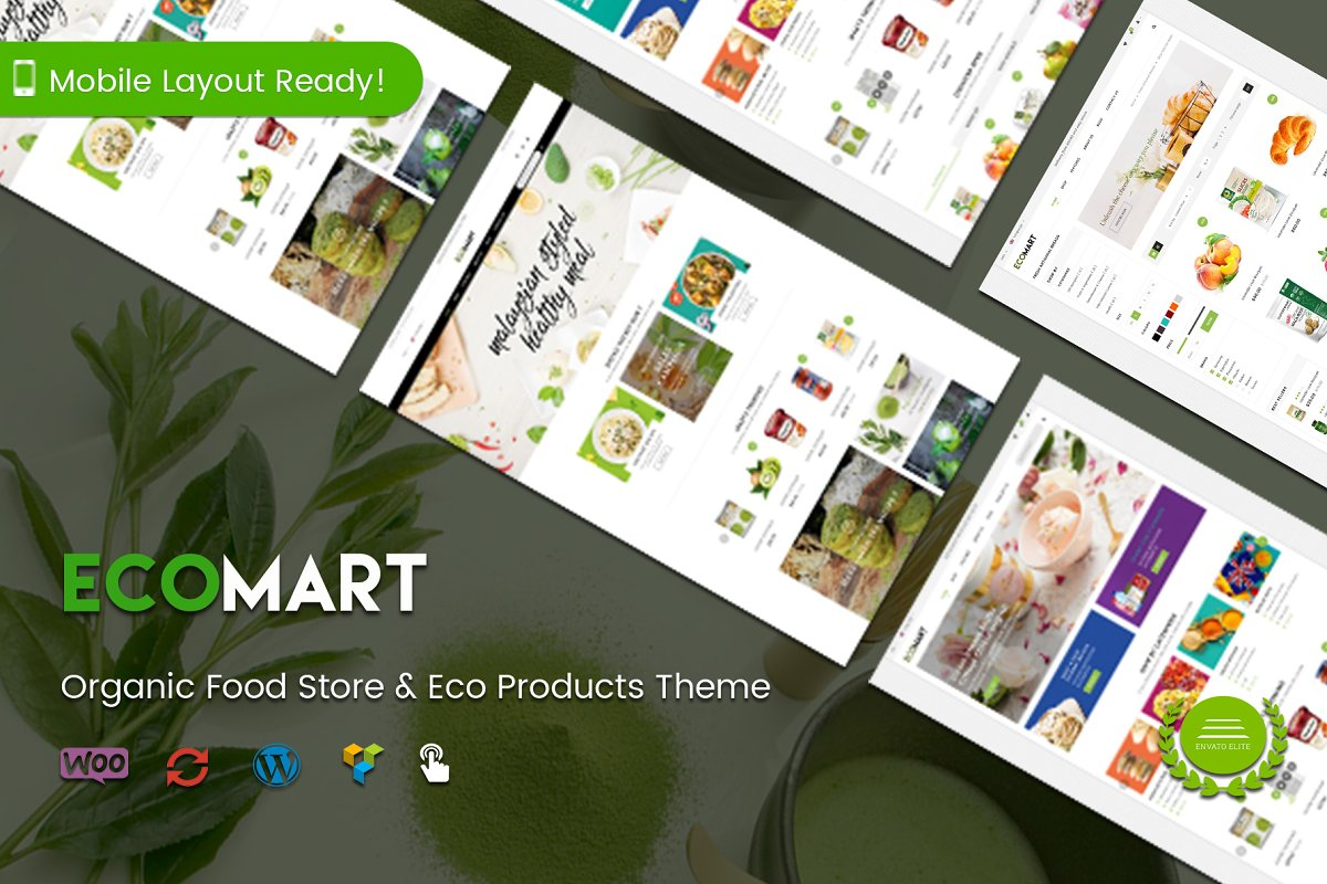 EcoMart - Organic Product Shop Theme