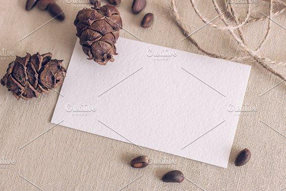 Mockup. Business cards. - Product Mockups