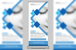 Charity Event Roll-up Banner