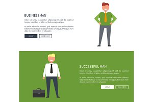 Businessman and Successful Man