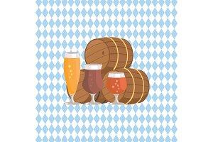 Three Beer Barrels Degustation