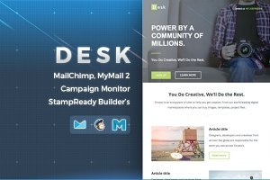 Desk | Responsive Email Template
