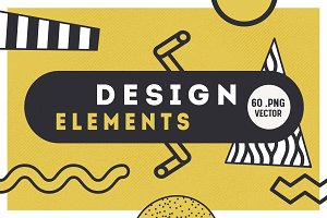 Geometric Design Elements Set 3
