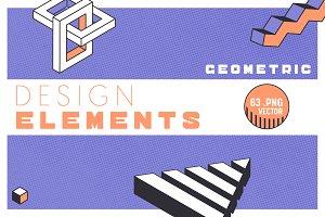 Geometric Design Elements Set 4