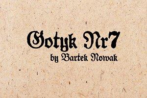 Gotyk Nr7